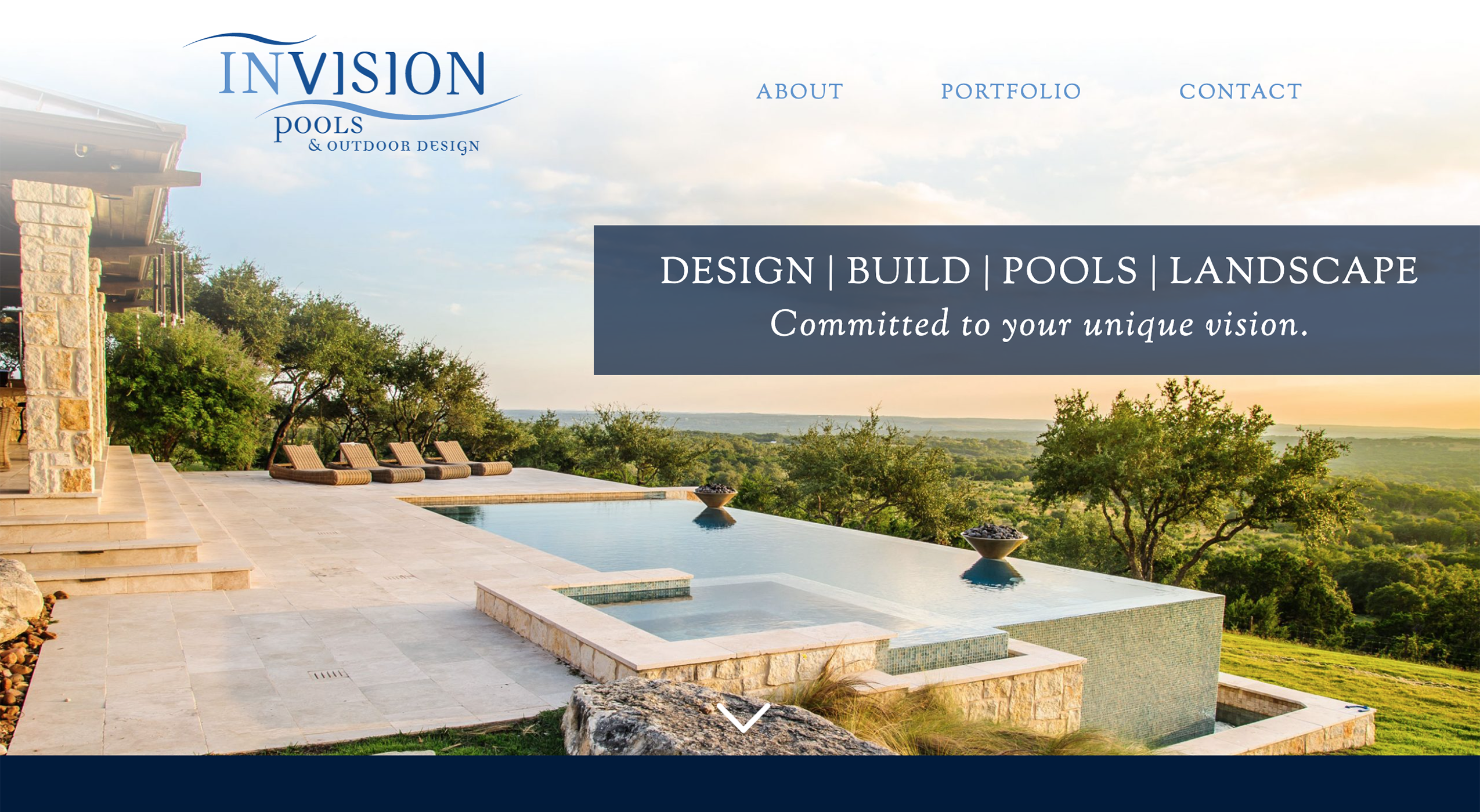 invision pools and outdoor design
